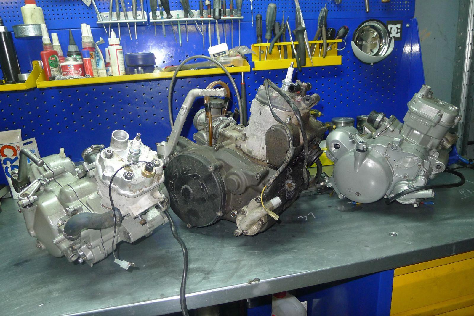 Тюнинг двухтактного двигателя