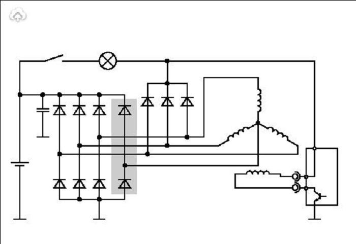 Рис. 9 Схема с дополнительным плечом выпрямителя