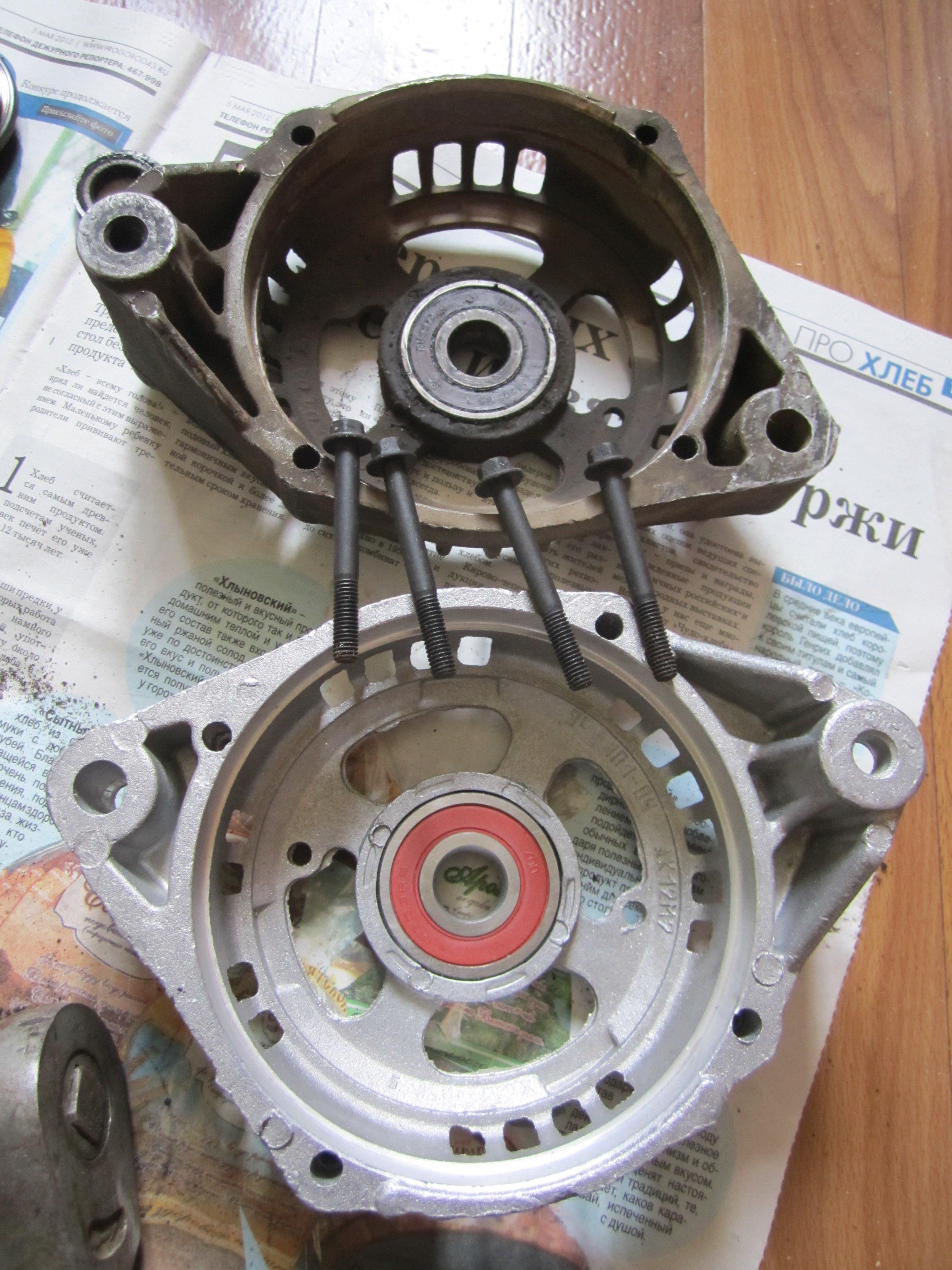 gener12 - Электрическая схема автомобильного генератора