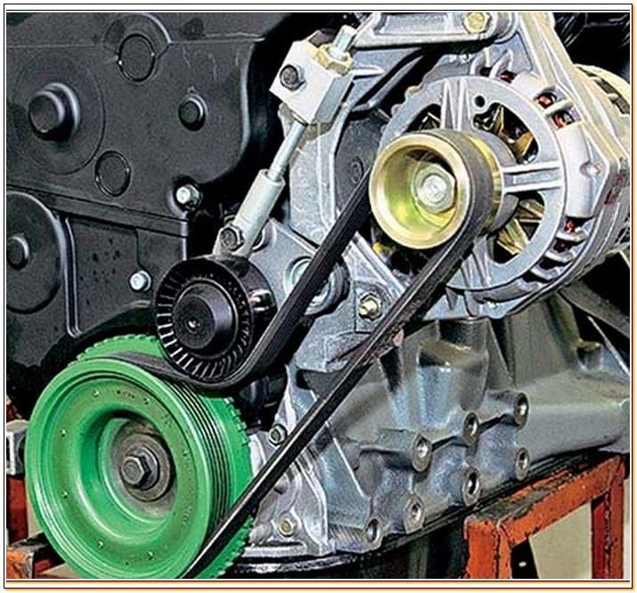 gener14 - Электрическая схема автомобильного генератора