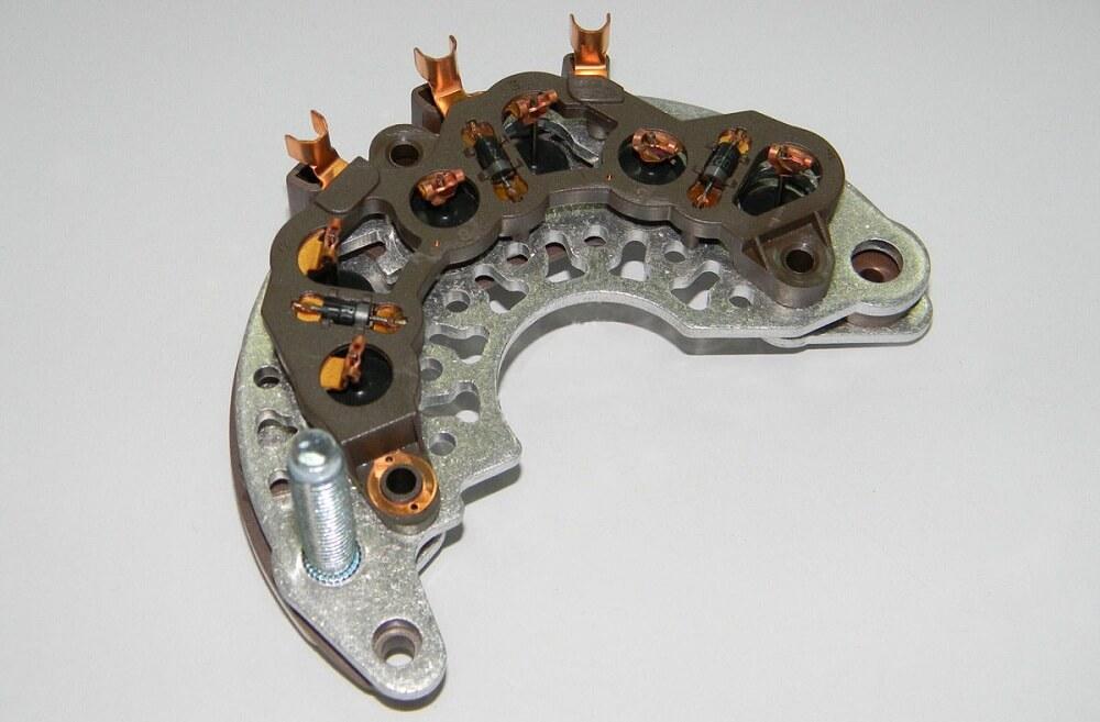 gener6 - Электрическая схема автомобильного генератора