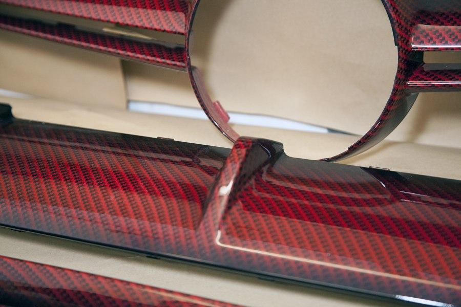 Радиаторные решетки окрашенные с помощью аквапечати