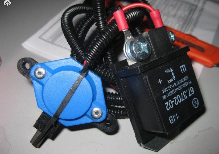 rele7 - Схема подключения регулятора напряжения к генератору