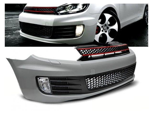 Тюнингованная решетка радиатора автомобиля VW Golf