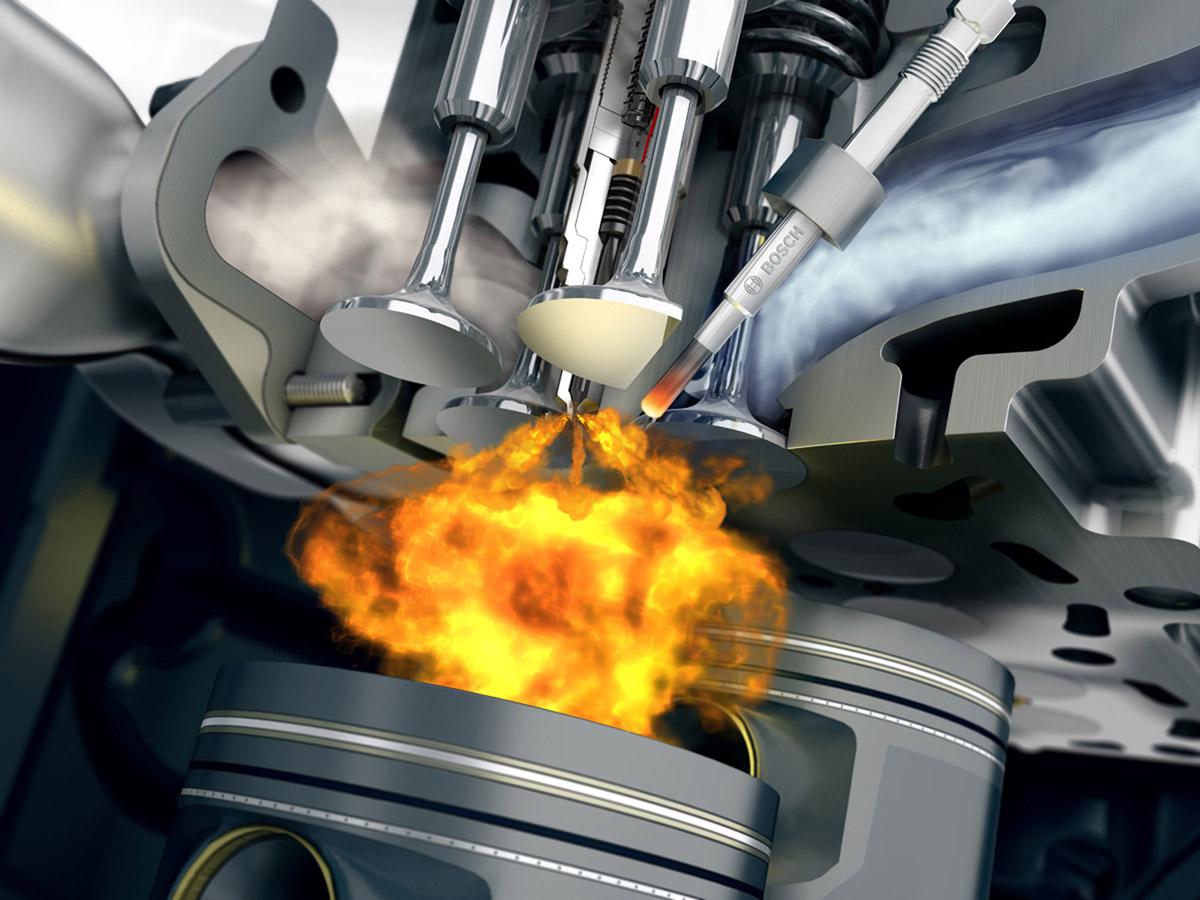 Дозированное поступление топлива в двигатель благодаря инжектору
