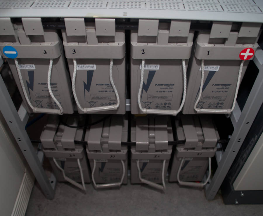 Хранение аккумуляторов