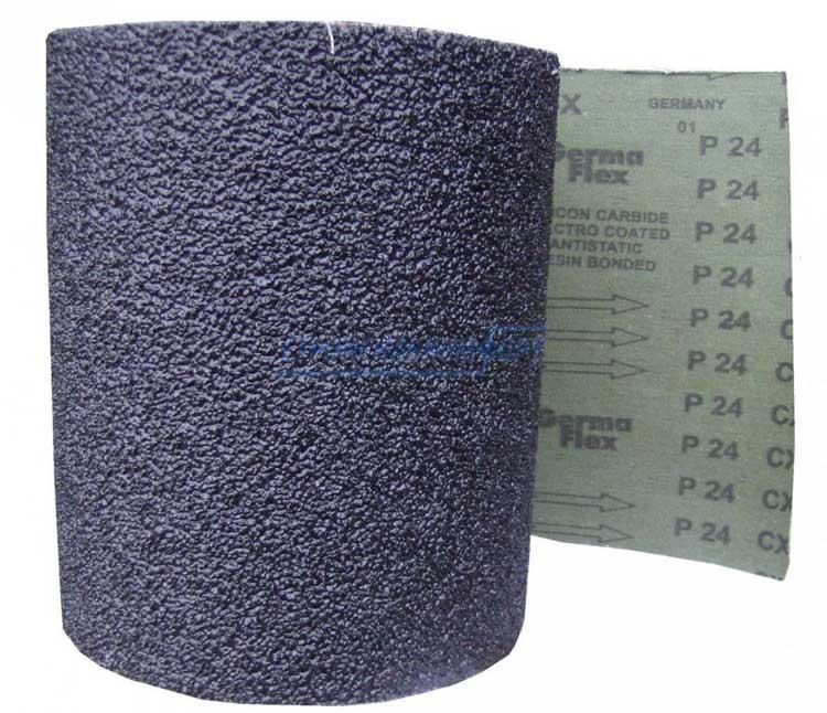 Кусок наждачной бумаги для откручивания масляного фильтра