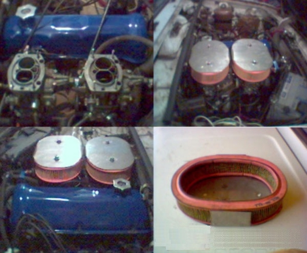 Монтаж отшлифованной системы питания двигателя