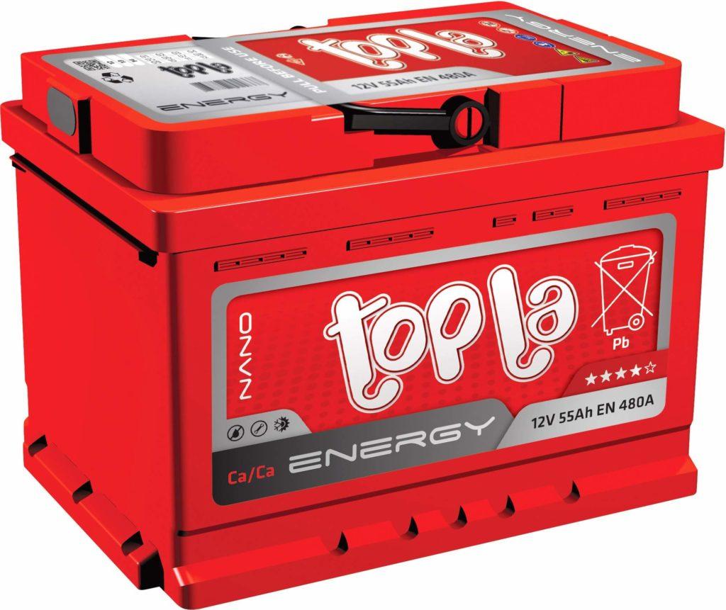 Необслуживаемый аккумулятор Topla