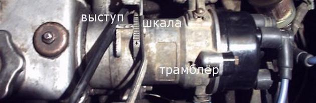reviziya ugla operezheniya zazhiganiya - Хлопок в карбюратор при запуске