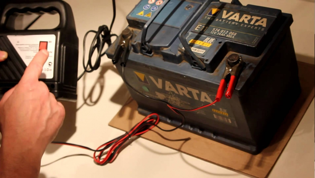 Зарядка свинцово-кислотного аккумулятора