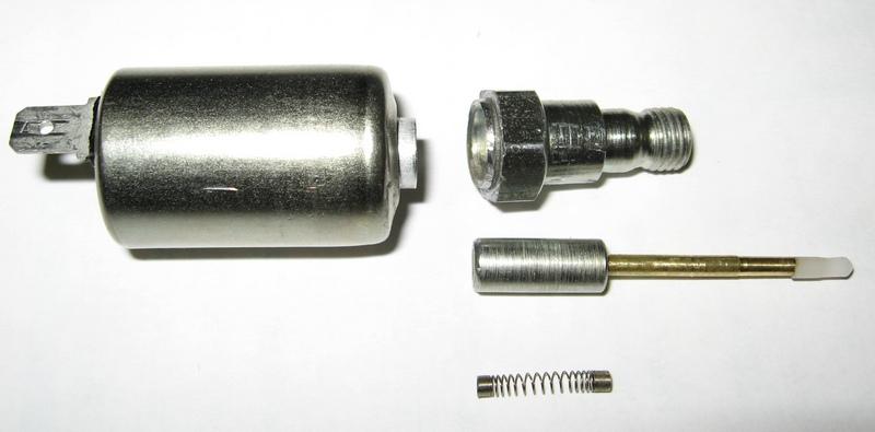 Заводской брак электромагнитного клапана