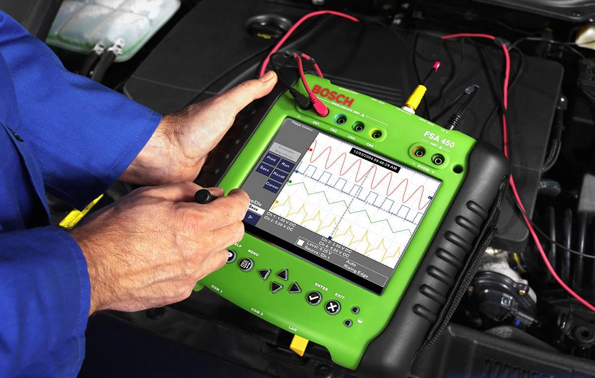 Диагностический сканер для считывания лога ошибки с электронного блока управления