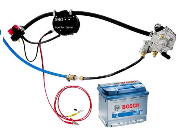 Оборудование для проверки газовых форсунок ГБО