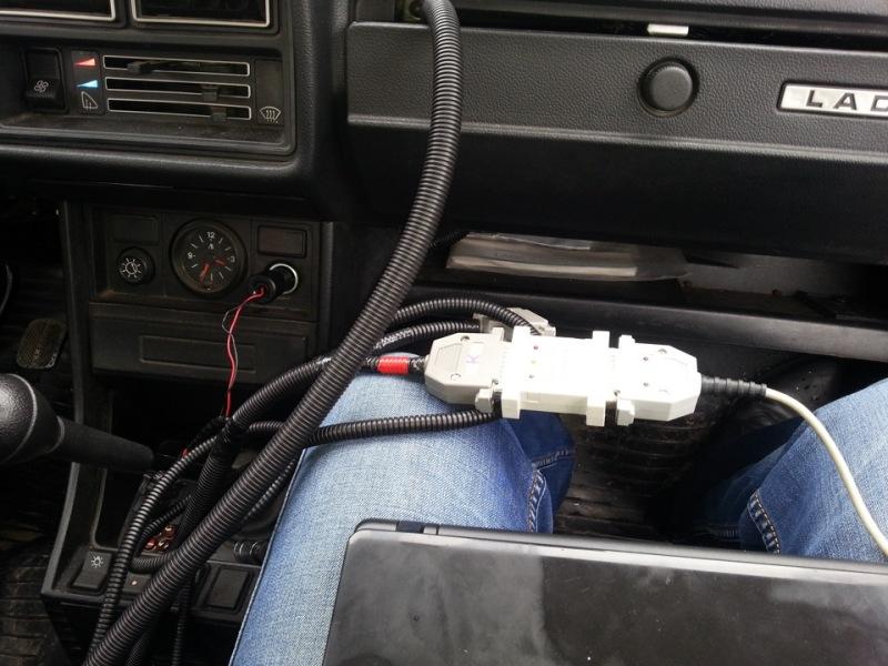 Выполнение чип-тюнинга непосредственно на автомобиле