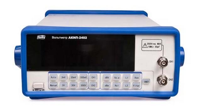 Цифровой вольтметр АКИП-2401