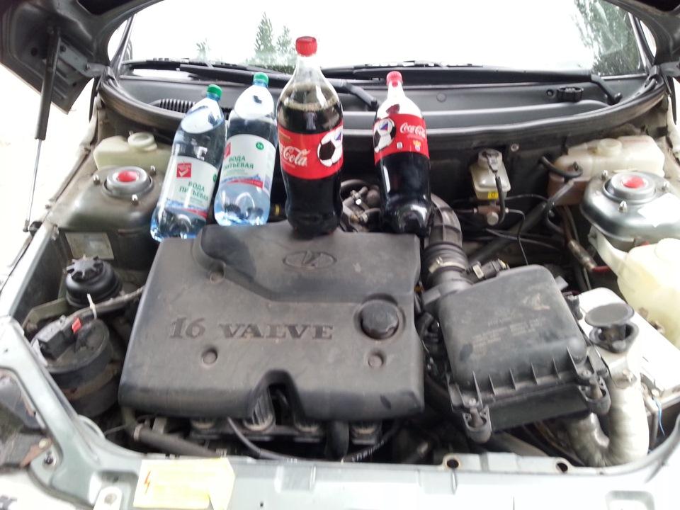 Кока-кола как средство промывки системы охлаждения машины