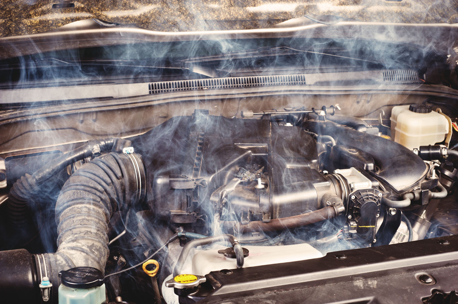 Неисправный двигатель