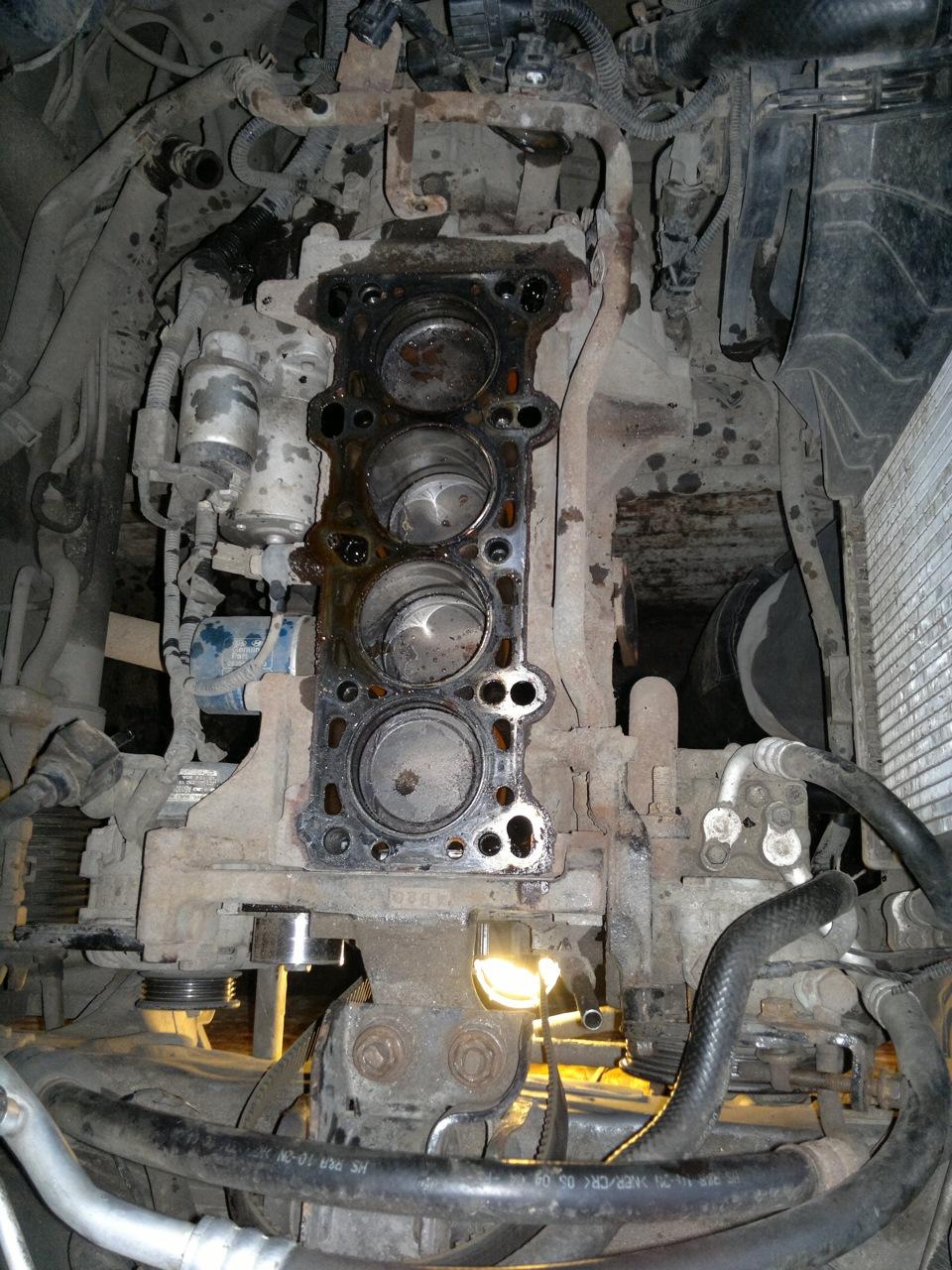 Блок цилиндров двигателя a5d