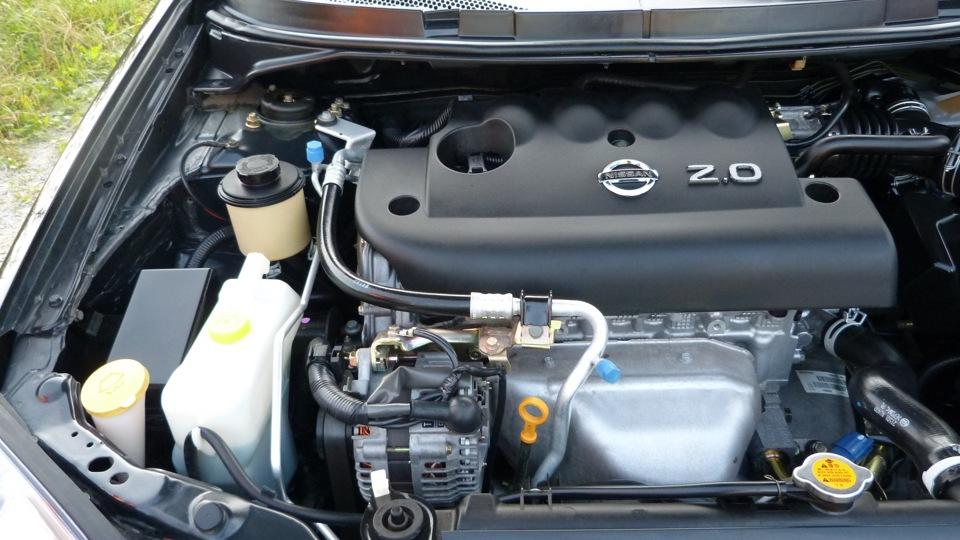 Автомобиль Ниссан с мотором SR20DE