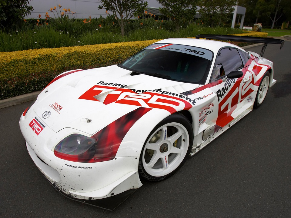 Болид Toyota Supra GT500 RaceCar