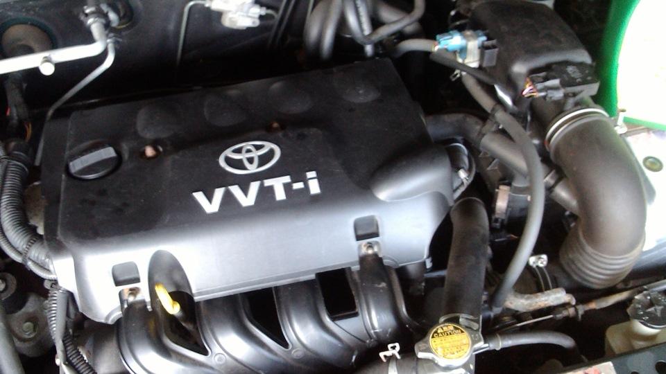 Двигатель 2NZ FE после ТО