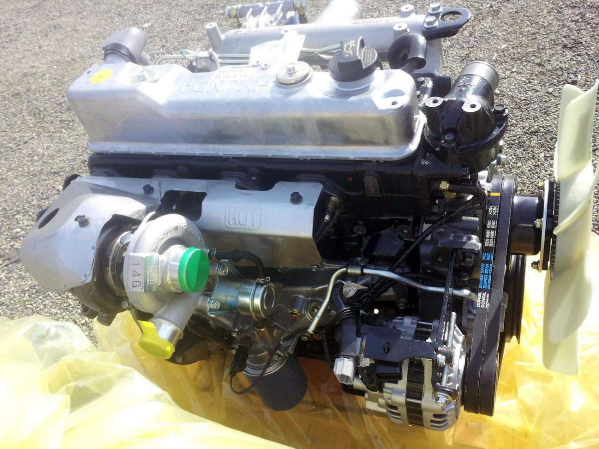 Двигатель D4DB/4D34T с механическим ТНВД