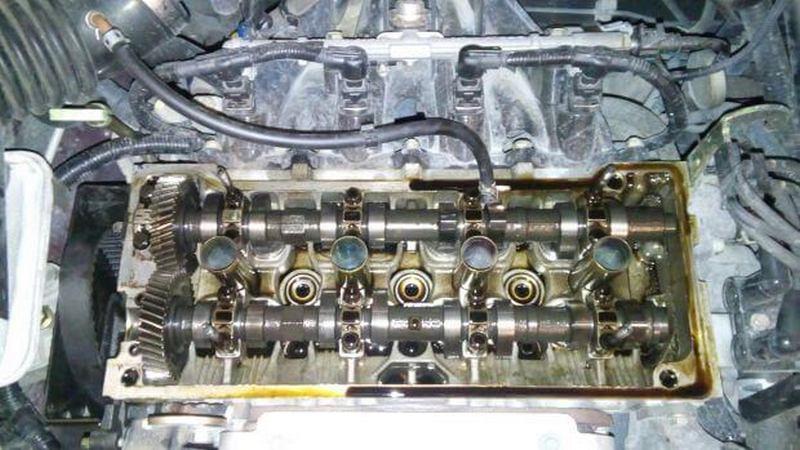 Двигатель MR479QA после ТО