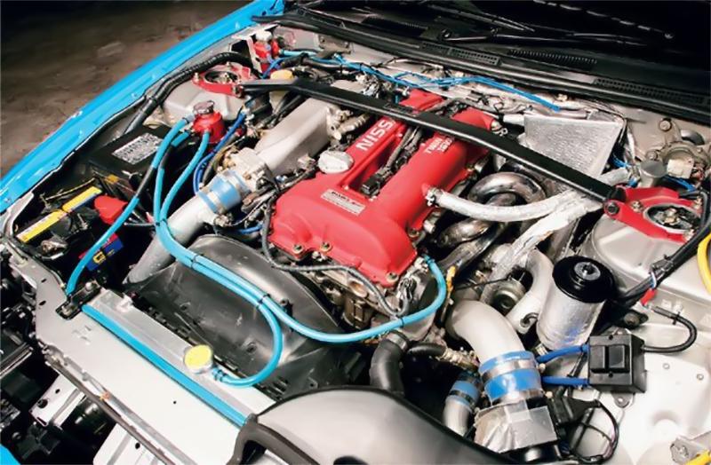 Двигатель SR20DE после ТО