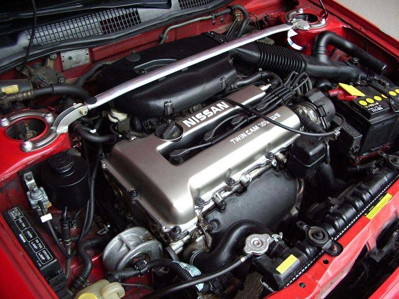 Двигатель SR20DET в автомобиле