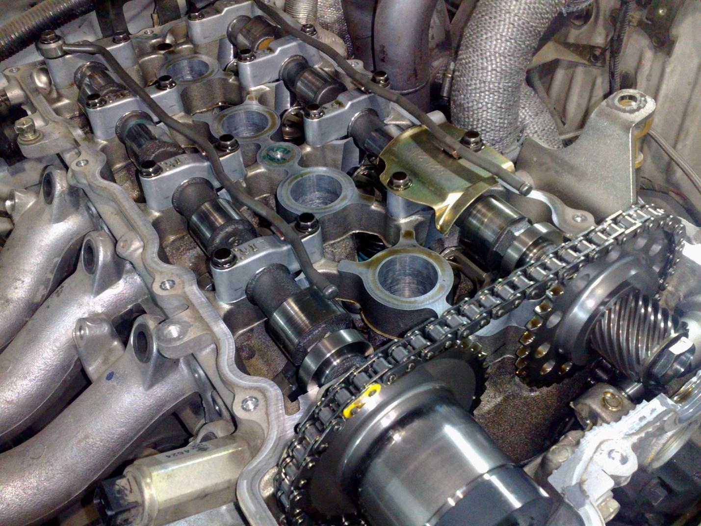 Конструкция мотора SR20DE
