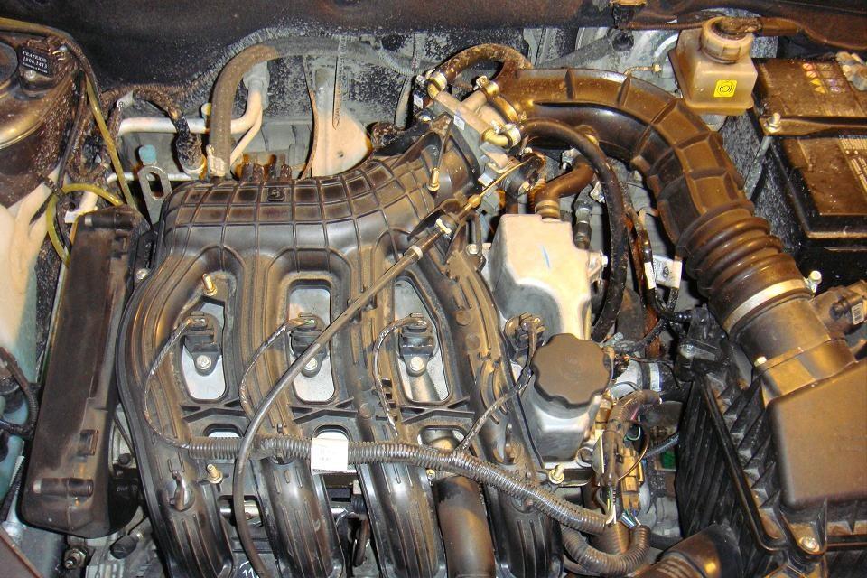 Мотор 11194 под капотом Лада Калина