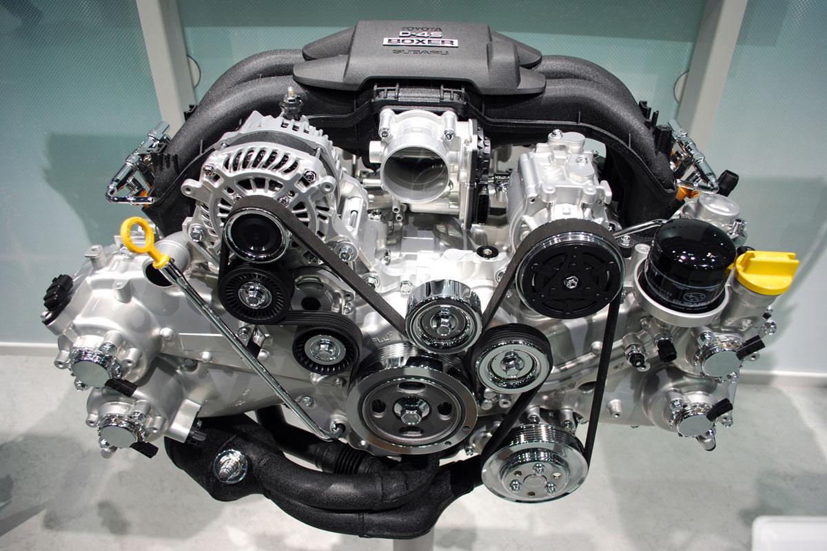 Мотор 2AR-FE с завода