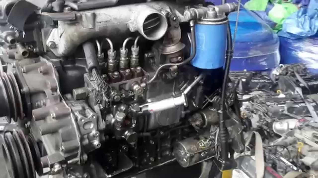 Мотор D4DB после тюнинга