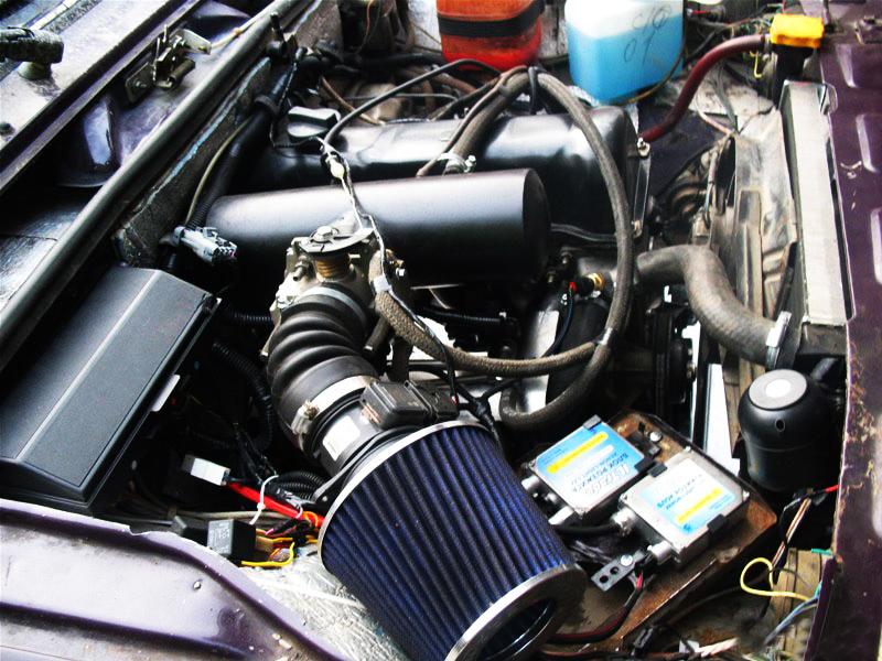 Мотор D4EB после тюнинга
