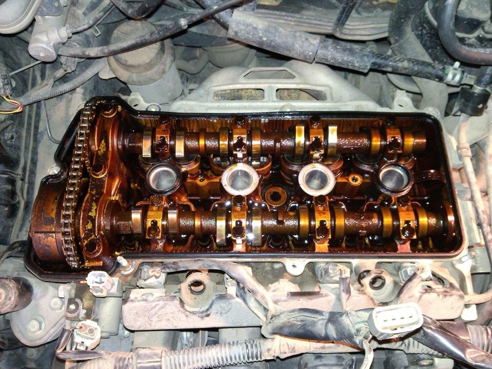 Неисправный двигатель 2NZ FE