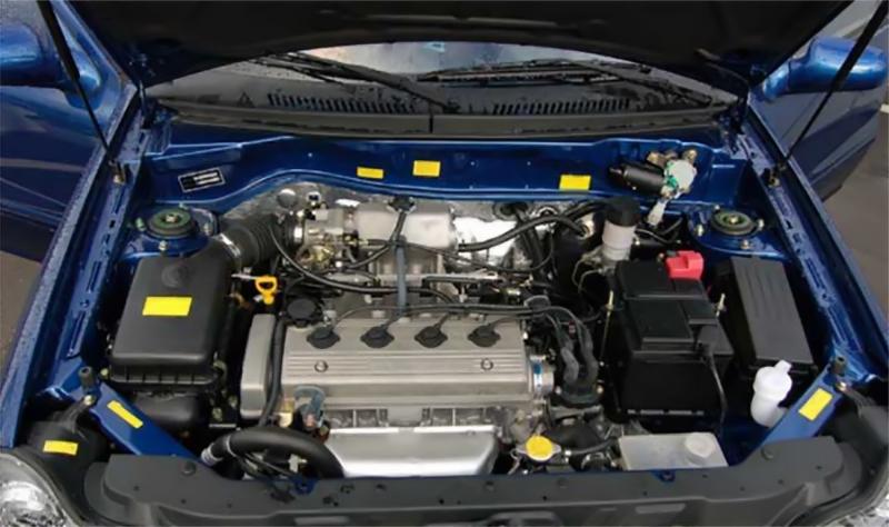 Новый двигатель Geely MR479QA