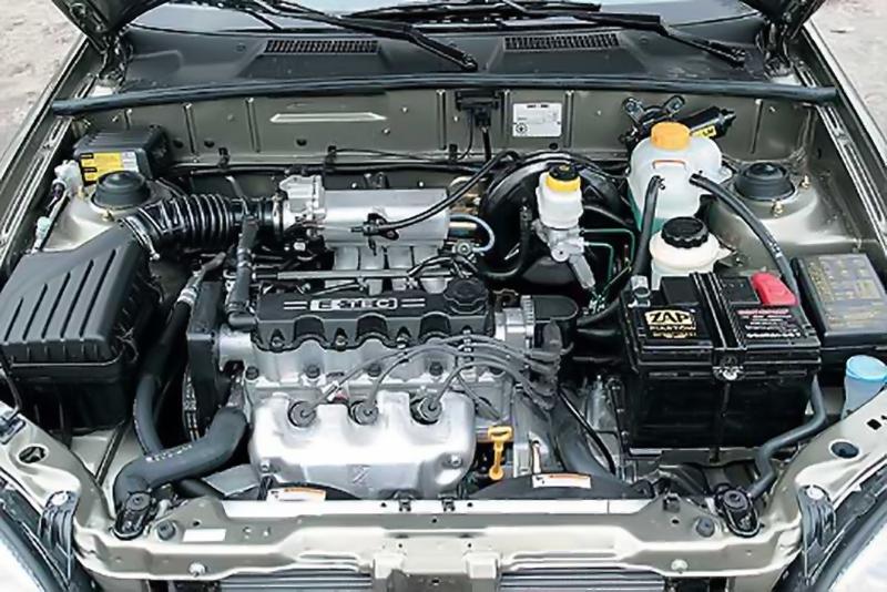 Отремонтированный мотор MR479QA