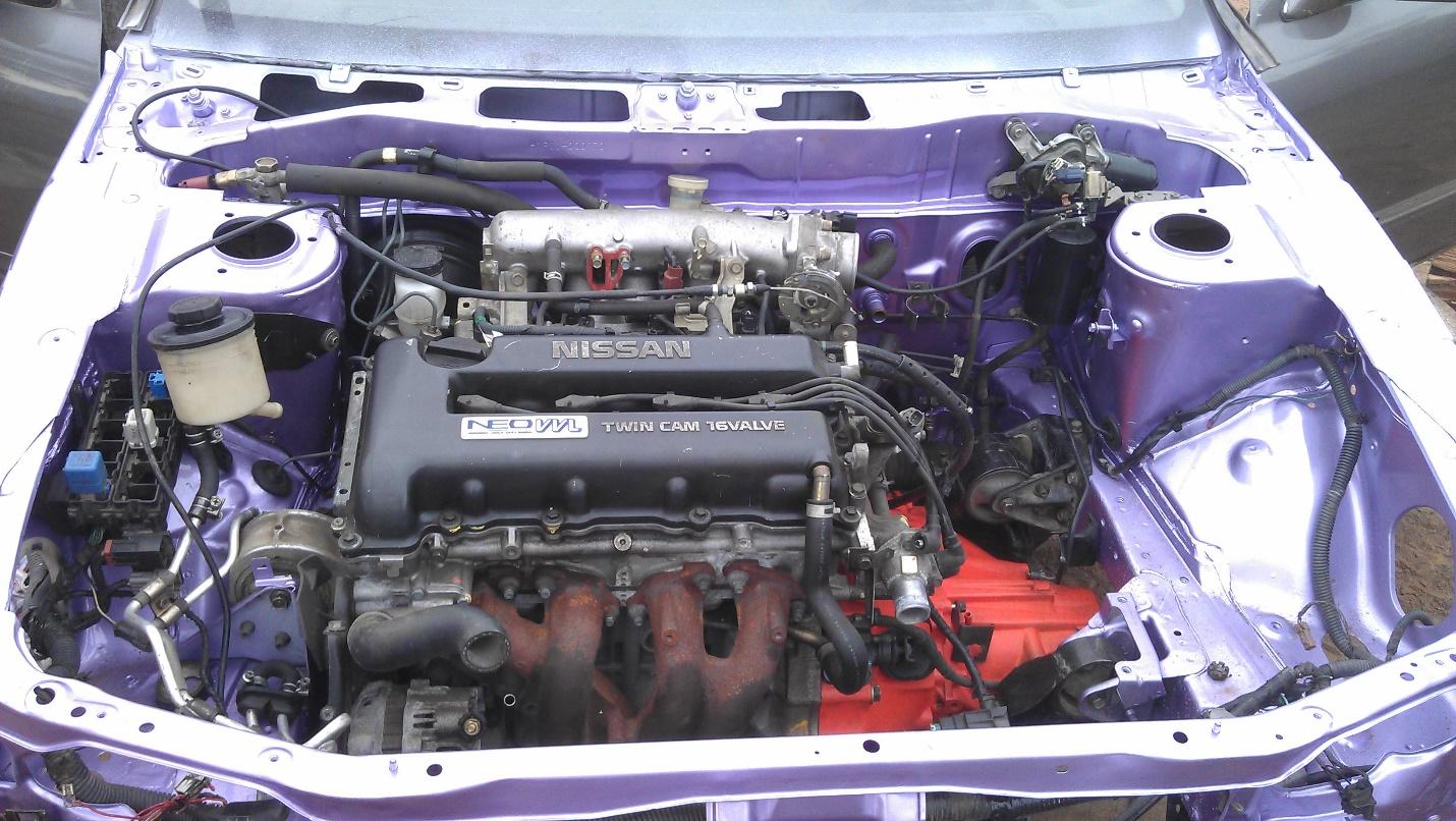 Ремонт мотора SR20DE