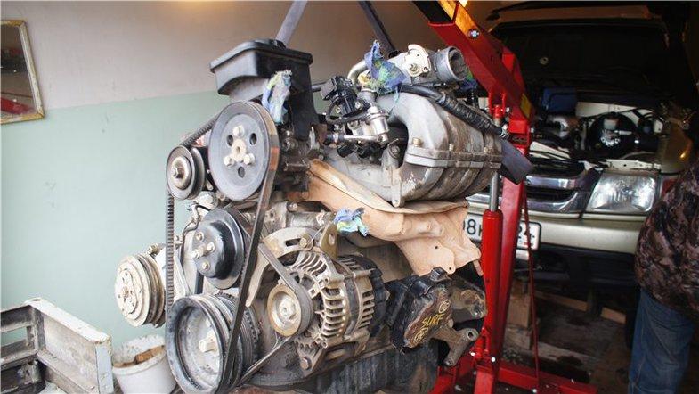 Тюнингованный двигатель 491QE