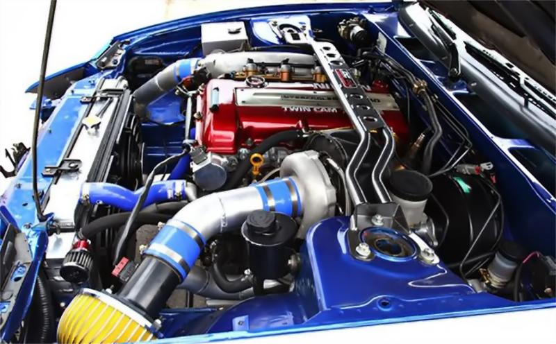 Тюнингованный мотор SR20DE