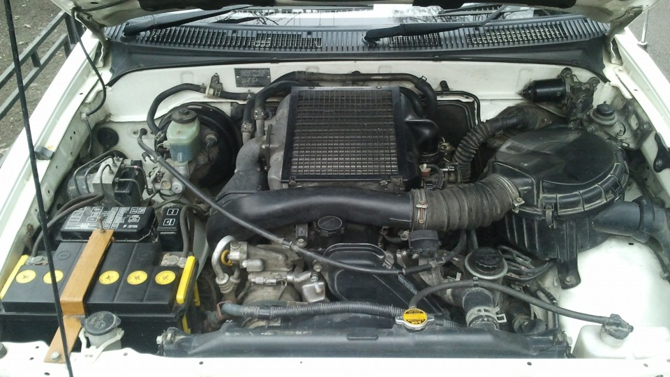 1KZ TI - одна из модификаций двигателя 1KZ