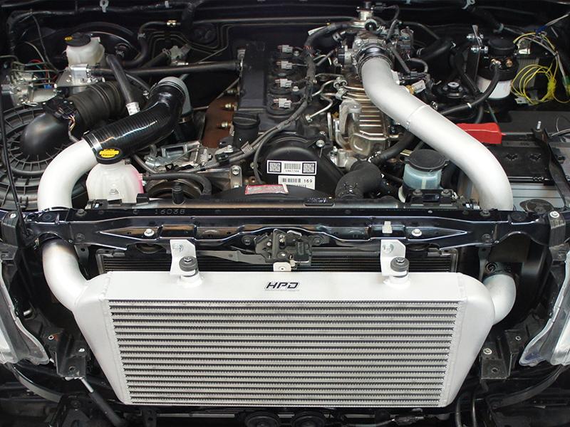 Двигатель 1KZ после тюнинга