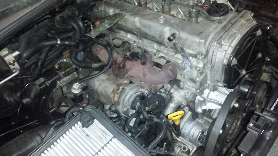 Двигатель D4CB Turbo