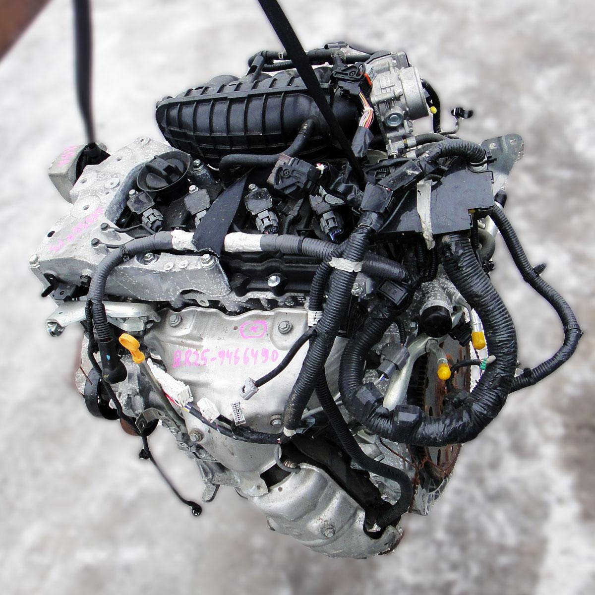 ДВС Nissan QR25DE
