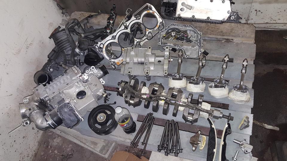 Конструкция мотора QR25DE