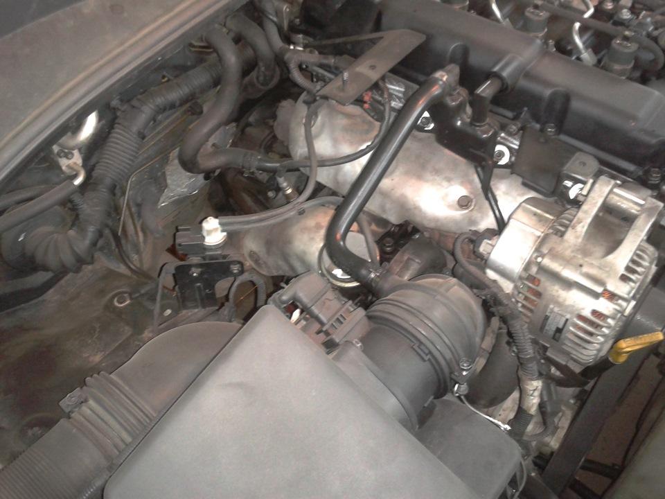 Поперечное расположение мотора