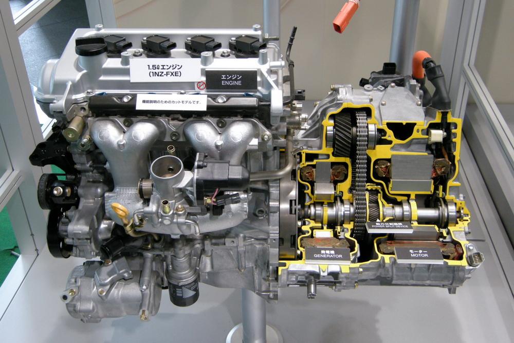 Гибридный мотор 1NZ FXE