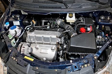 Двигатель SQR477F в системе автомобиля
