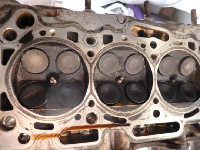 Клапаны мотора 4B12